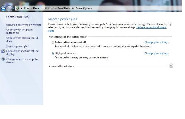 Cách cài màn hình máy tính laptop luôn sáng