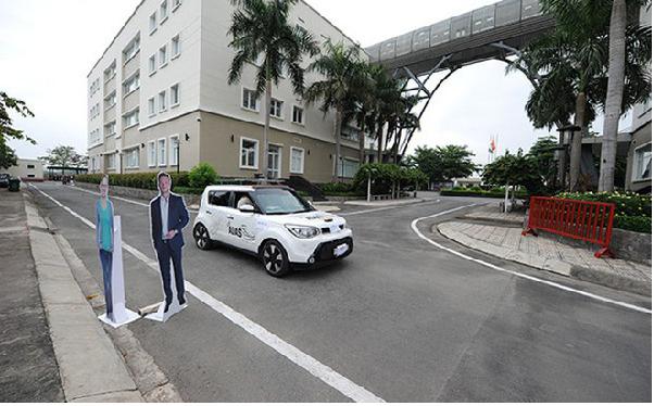 CÔng ty phần mềm FPT ra mắt ô tô tự lái