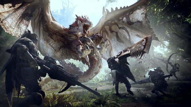 Deluxe kit DLC pheien bản của Monster Hunter World
