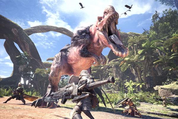 Hoạt động thám hiểm trong săn quái vật trong Monster Hunter World