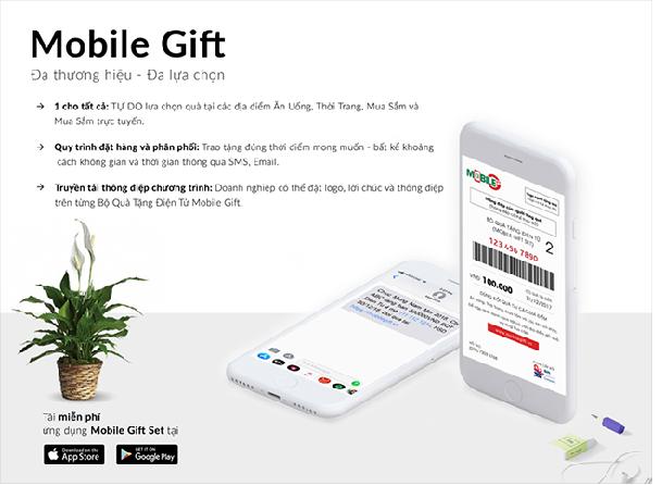 Bộ quà tặng điện tử cho doanh nghiệp Mobile Gift