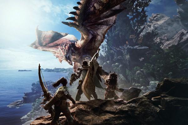 Game Monster Hunter World chính thức được công bố bởi capcom