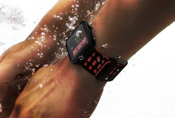 Tính chống nước chuyên dụng của đồng hồ thông minh xiaomi