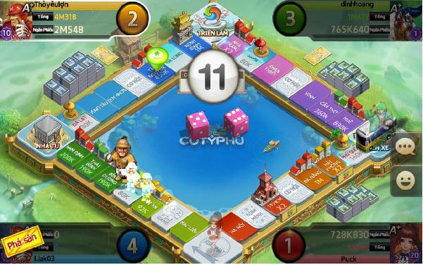 Những trải nghiệm thú vị nhất khi tham gia chơi 360mibi cờ tỷ phú