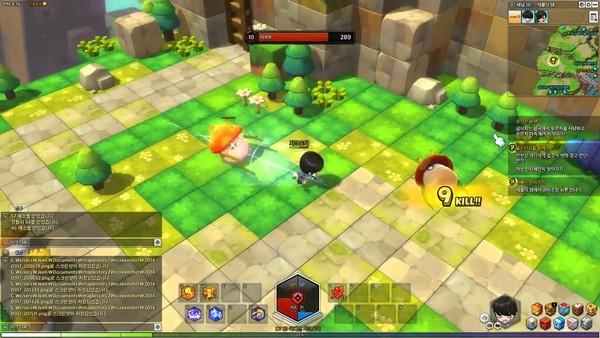MapleStory 2 đã cho game thủ vào chơi,nhưng phải bỏ tiền mua founder pack