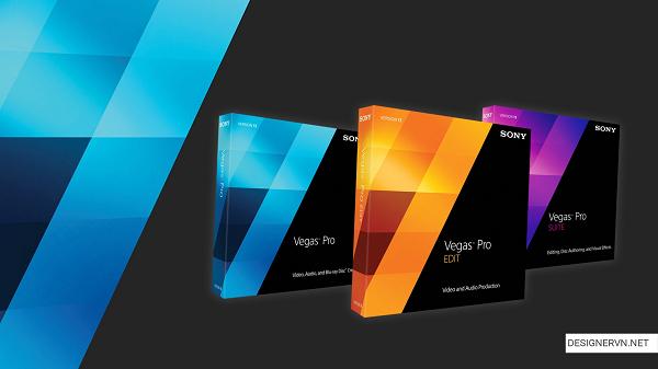 Phần mềm trình chiếu chuyên nghiệp Sony Vegas Pro