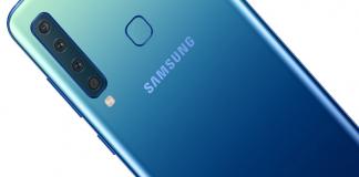 """Samsung galaxy A8s với màn hình """"đục lỗ"""" camera đặt lệch về bên trái"""