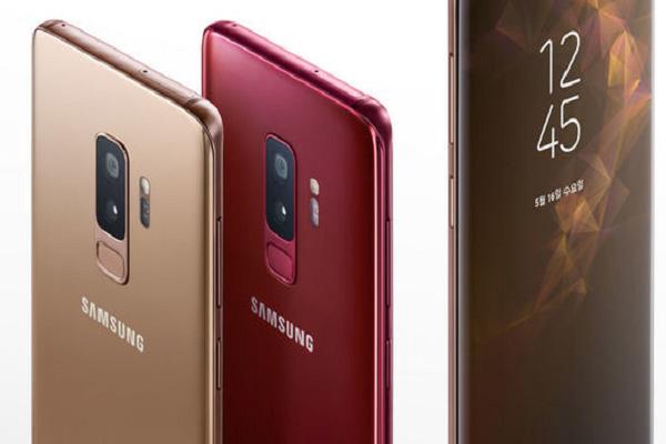 Samsung galaxy s9 phiên bản mới nhiều màu sắc thu hút