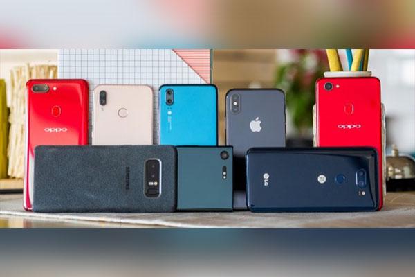 Samsung, Apple mất thị phần điện thoại vào tay Trung Quốc