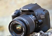 Máy ảnh Canon 550D đơn giản nhưng mạnh mẽ