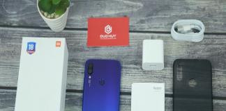 Điện thoại Xiaomi Redmi Note 7 thiết kế sang trọng