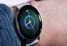 Samsung Galaxy Watch Active, thiết kế gọn gàng, phong cách