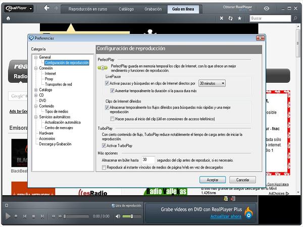 RealPlayer - phần mềm tải nhạc từ youtube nhanh nhất
