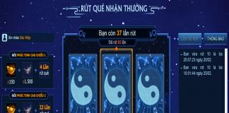 """Sự kiện """"rút quẻ"""" của Võ Lâm Truyền Kỳ, game thủ săn đón"""