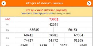 dự đoán xsmb ngày 10/05/2019