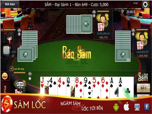 Trong game sâm lốc sảnh rồng sẽ sử dụng bộ bài tây 52 lá, mỗi ván bài sẽ được chia cho 10 lá bài