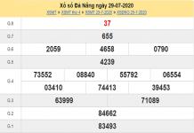 Bảng KQXSDN-Dự đoán xổ số đà nẵng ngày 01/08 của các cao thủ