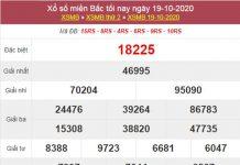 Dự đoán XSMB ngày 20/10/2020 chốt lô VIP miền Bắc thứ 3