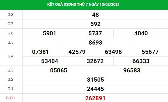 Dự đoán kết quả XS Đà Nẵng Vip ngày 17/02/2021