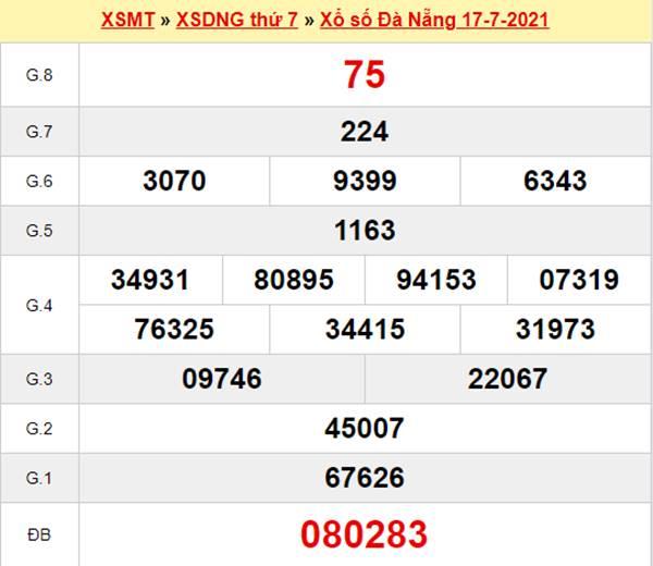 Dự đoán XSDNG 21/7/2021 thứ 4 miễn phí siêu chuẩn
