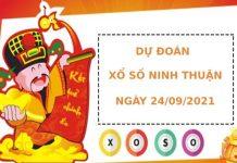 Dự đoán xổ số Ninh Thuận 24/9/2021 hôm nay thứ sáu chuẩn xác