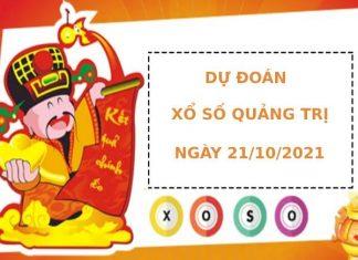 Dự đoán xổ số Quảng Trị 21/10/2021 hôm nay thứ 5